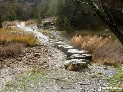 Cañones del Río Lobos y Valderrueda;valle el paular mochilas para trekking fotos de siguenza picos